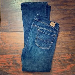 NWOT American eagle original boot stretch jeans
